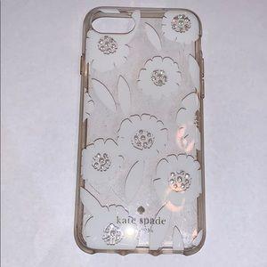 Kate Spade iPhone 6s case. Barley worn